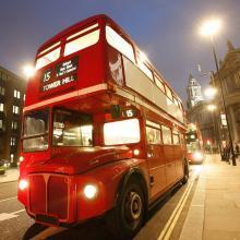 Autobuses en Londres