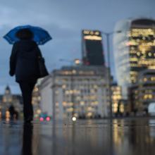 Lluvia en Londres