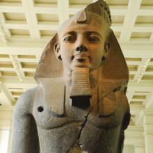 Estatua de Ramsés