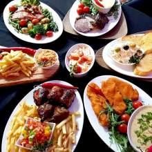 Menu buffet